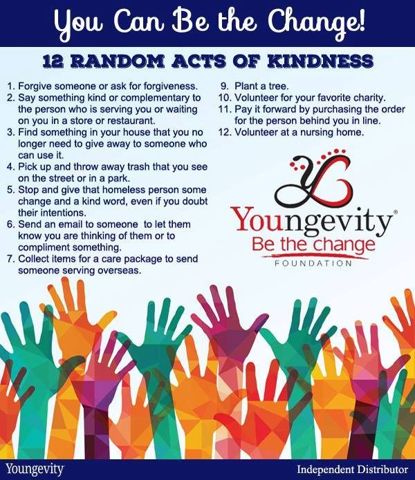 Instead of an April Fools Prank, How About Acts of Kindness?