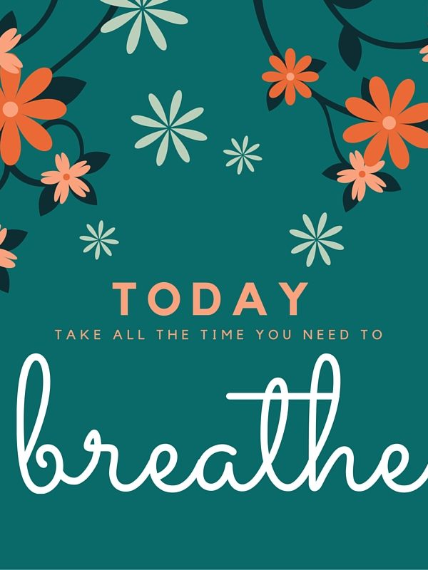 Breathe: Lamenting What Was, Showing Up to What Is