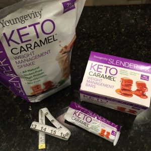 Youngevity's keto bars and shake supplement a ketogenic diet