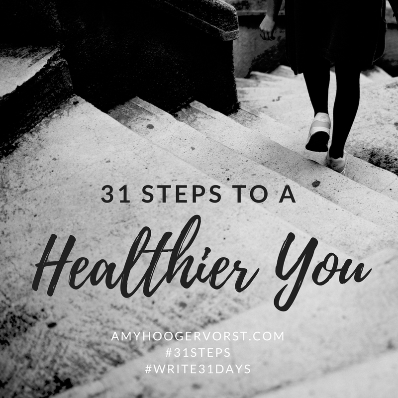 31 steps to a healthier you