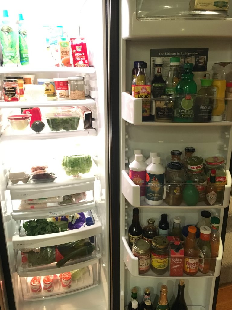 prep your environment for success, including cleaning out your refrigerator