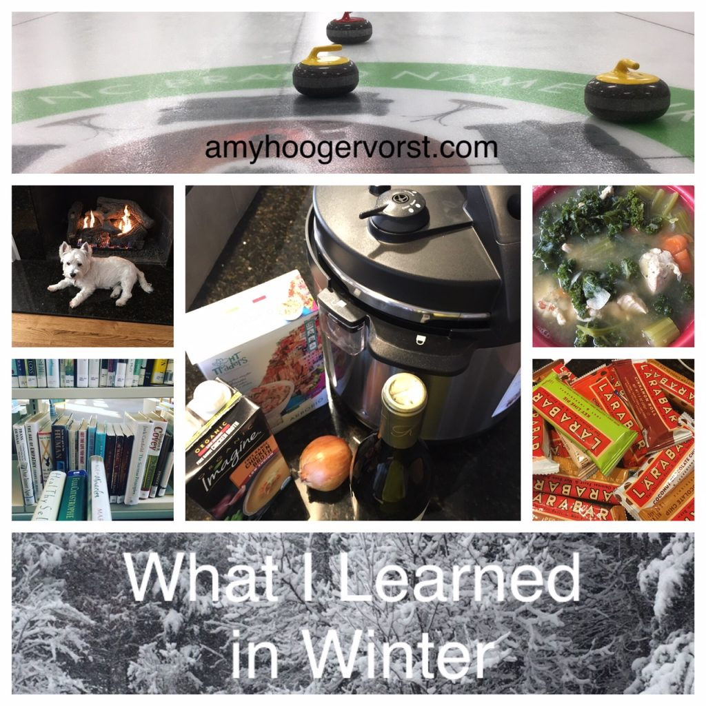 what i learned in winter 2018