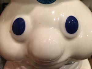 big blue Doughboy eyes