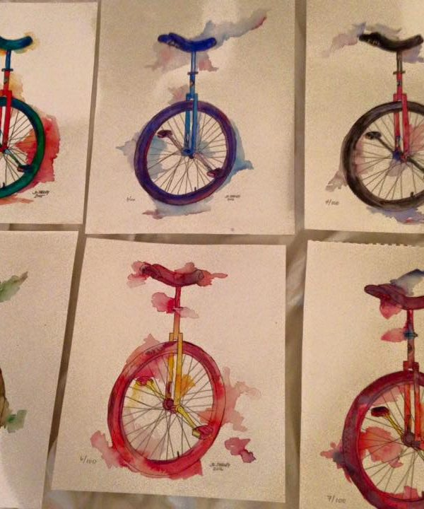 Faith & Sweat: 100 Unicycles for Suicide Prevention