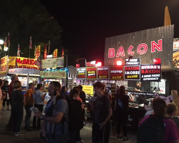 Is It Possible to Eat Healthy at the Fair?