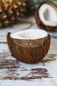 Coconut provides healthy fat for a ketogenic diet