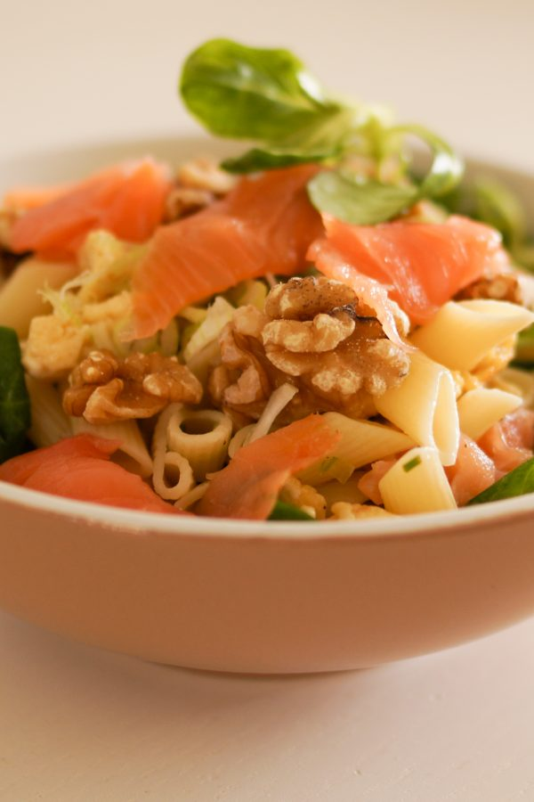 boost your intake of omega-3 by eating more salmon and walnuts