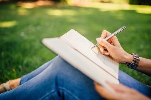 One way to practice gratitude to your self is to write yourself a thank you letter.